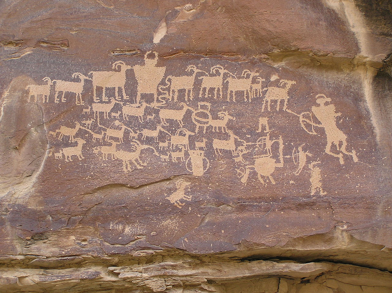 Editorial: 'Priceless' Indian petroglyphs used for target practice
