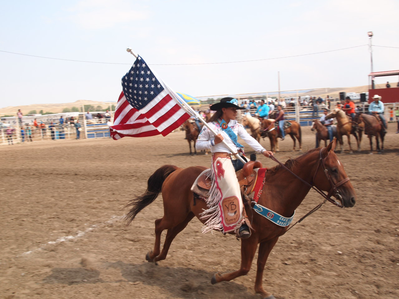 Native Sun News: Miss Crow Fair thanks family for strong support