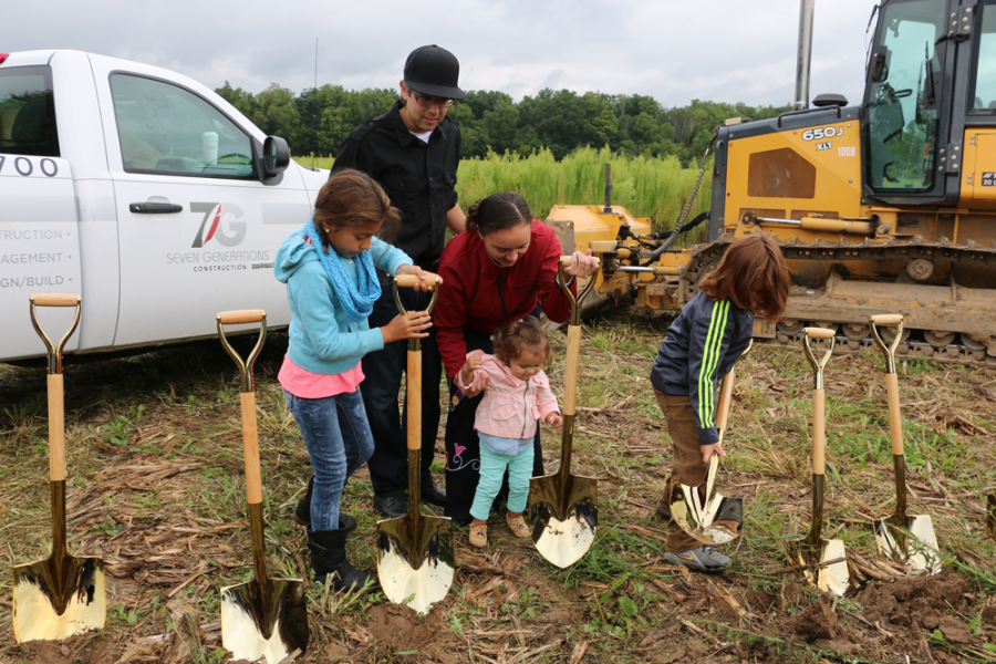 Pokagon Band breaks ground on village with housing complex