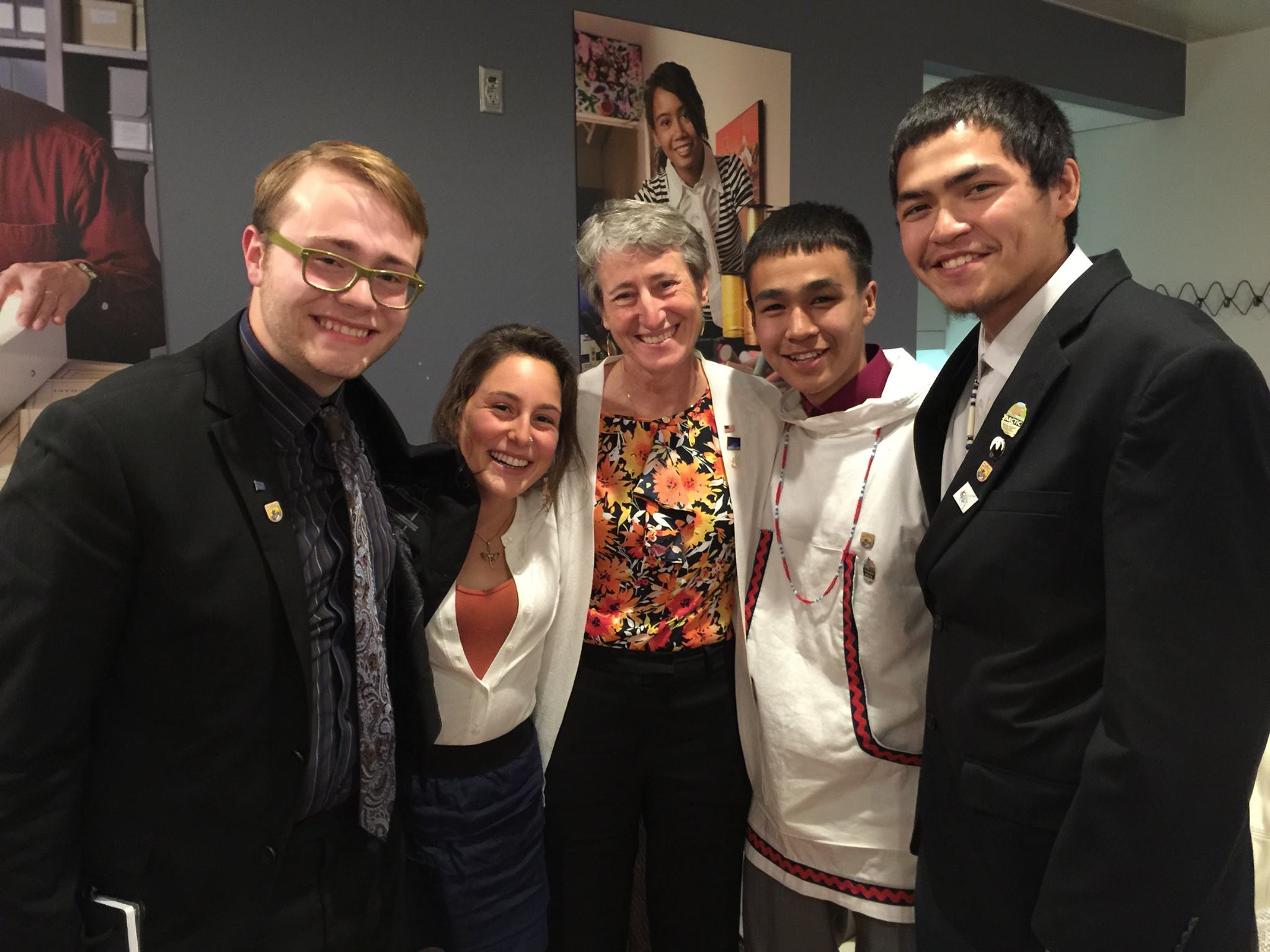 Sally Jewell: Native youth serve as Ambassadors for the Arctic