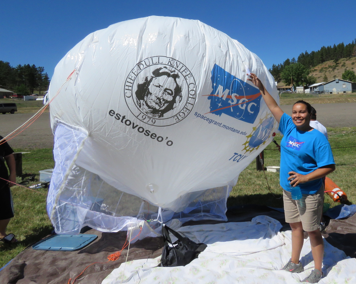 Tribal college students participate in NASA challenge in Virginia