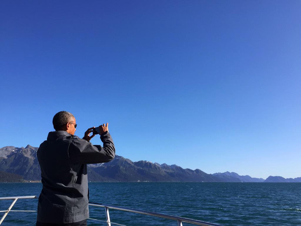 President Barack Obama offers thoughts on historic trip to Alaska
