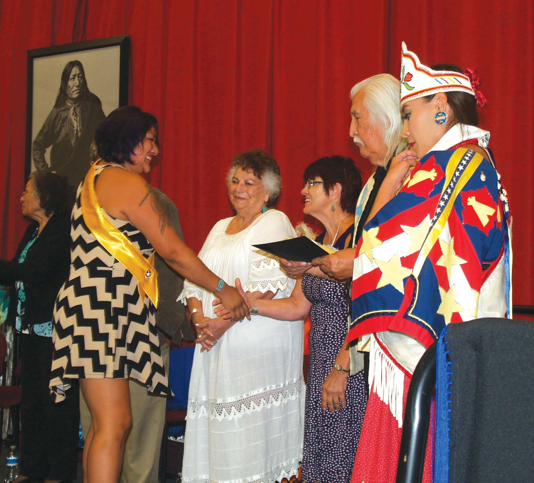 Native Sun News: LaDonna Harris receives honorary doctorate