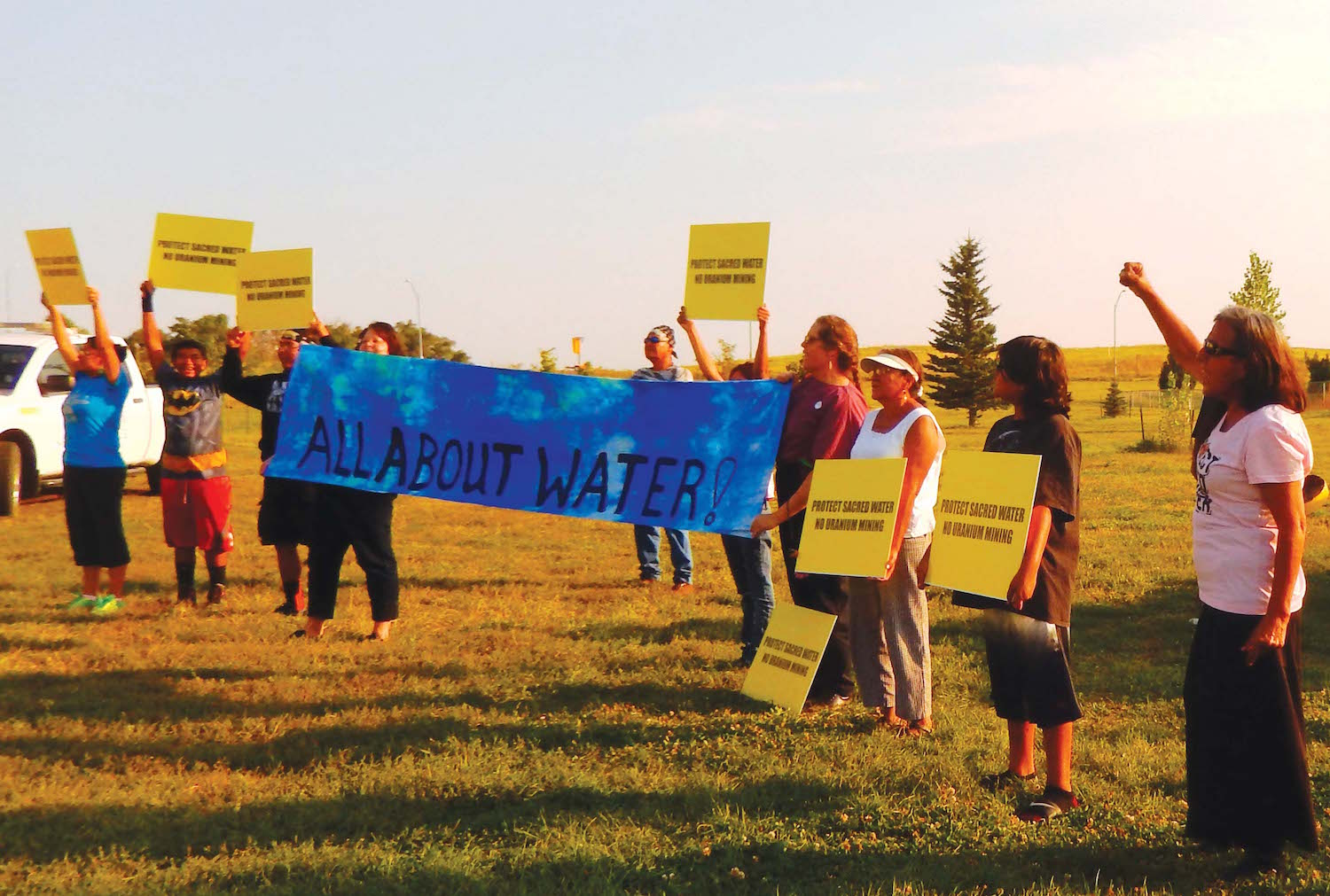 Native Sun News: Oglala Sioux activist challenges uranium mine