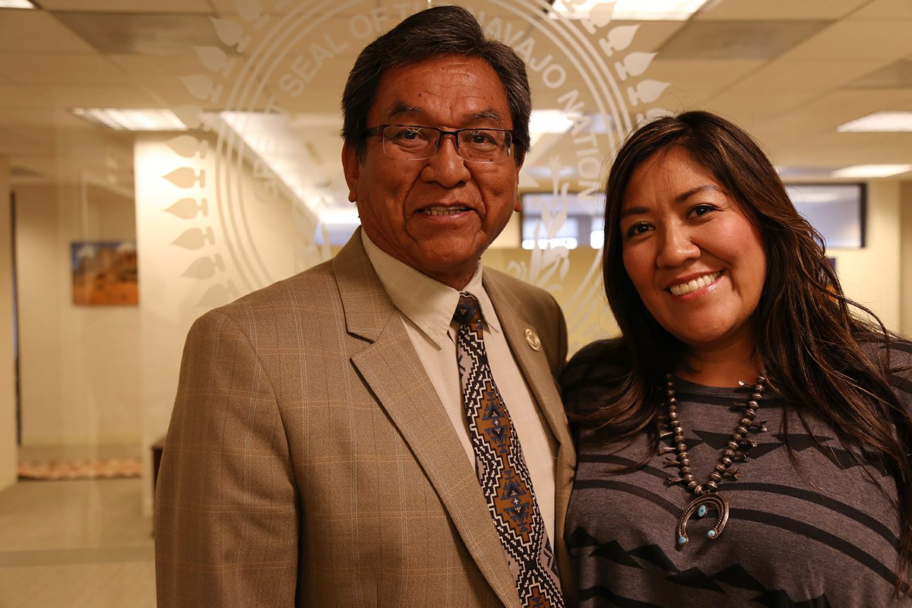 Navajo president praises Champion of Change Amanda Tachine