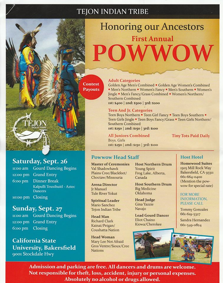 Tejon Tribe to hold inaugural powwow after gaining recognition