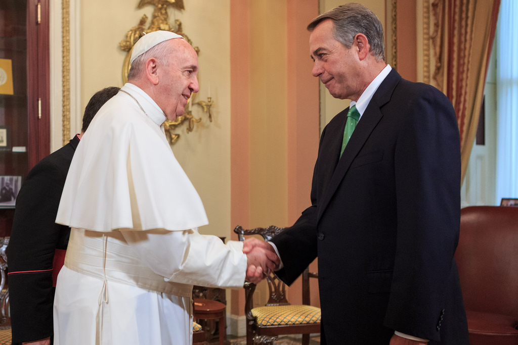Ray Cook: Pope Francis brings crowd control to United States