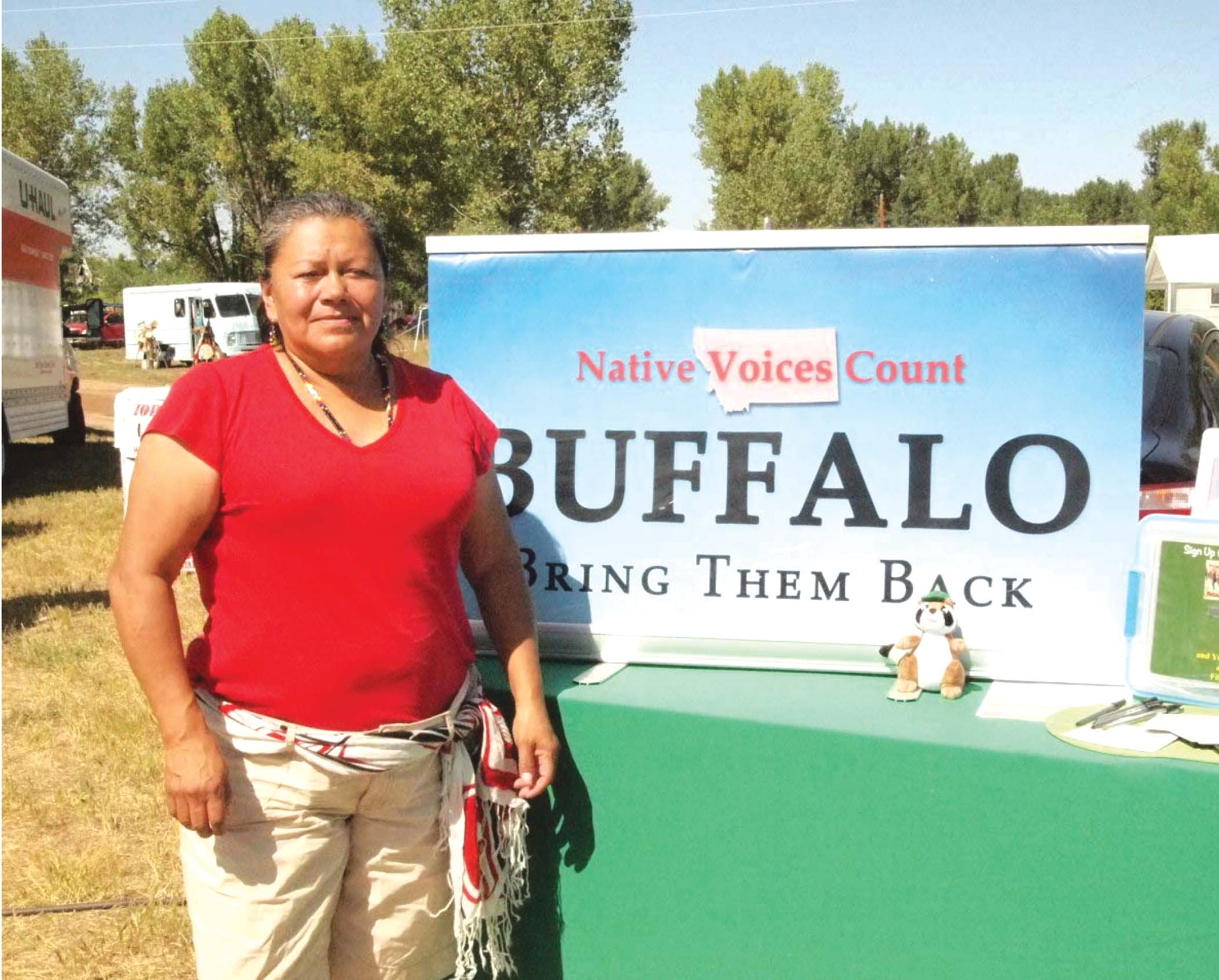 Native Sun News: Spreading the word on bison in Indian Country