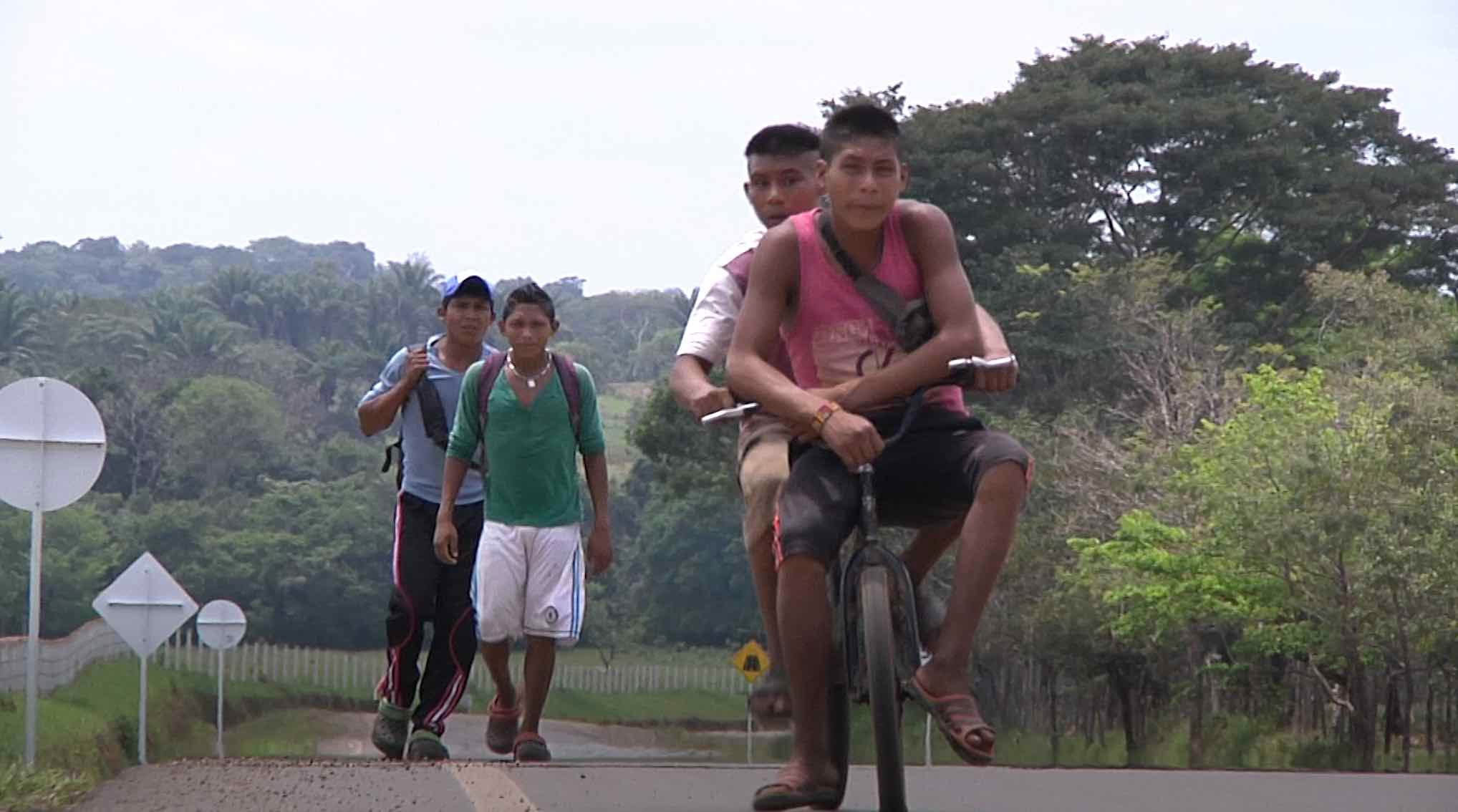 Tribe in Colombia still struggling after being forced out of homeland