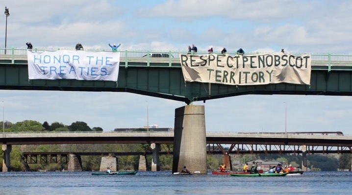 Penobscot Nation battles state over rights to namesake river