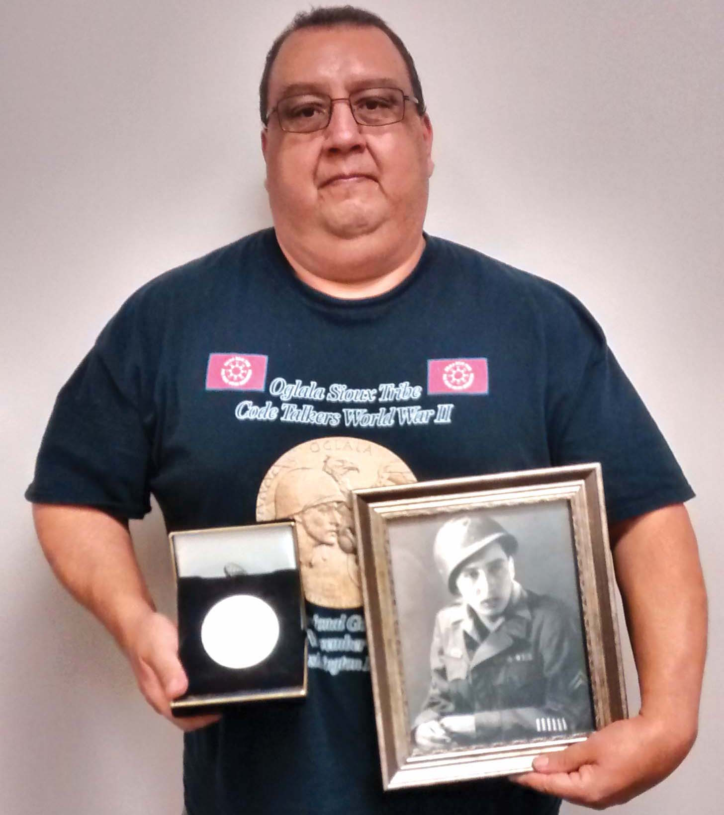 Native Sun News: Code Talker medals shown in traveling exhibit