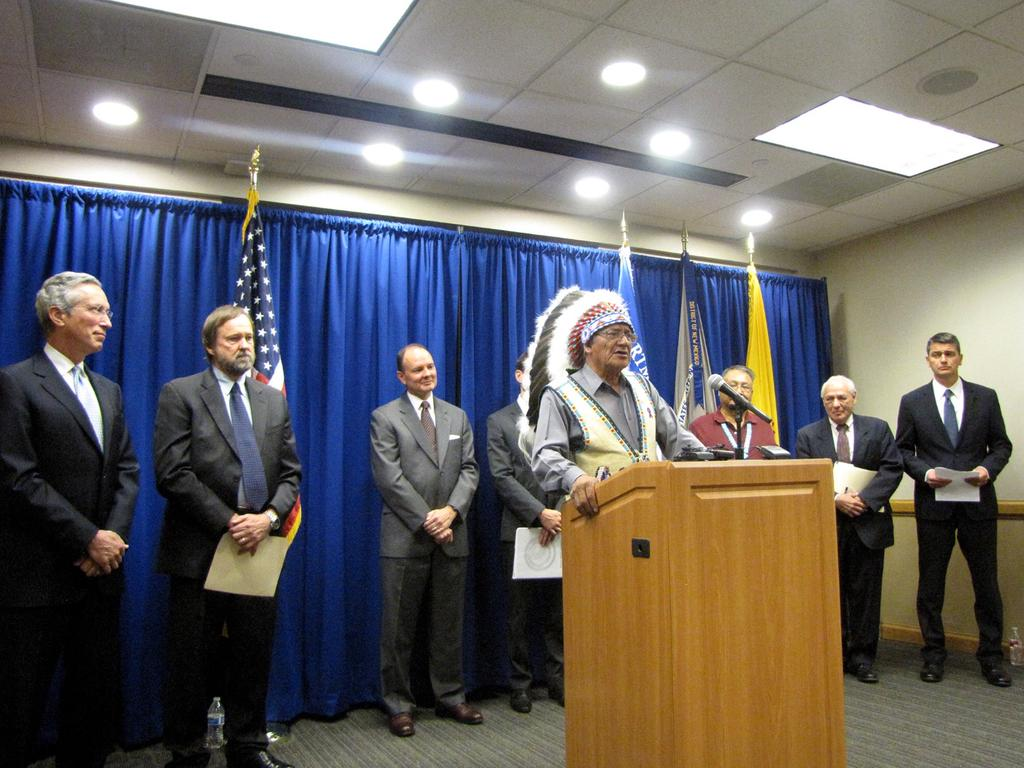 Lakota Country Times: Tribes receive $940M in Ramah settlement