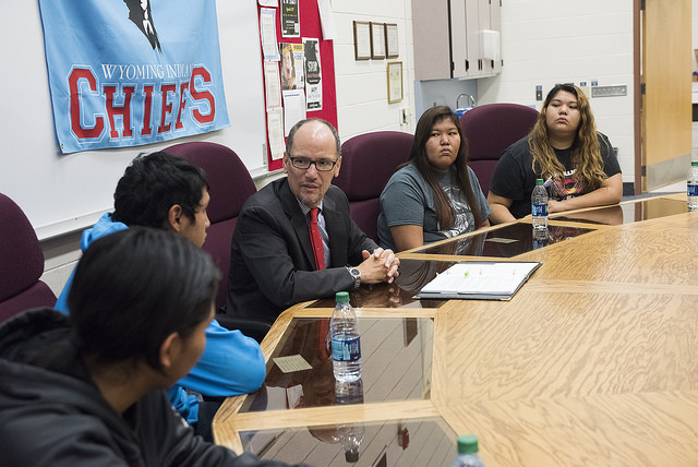 Thomas Perez: Youth on Wind River Reservation share high hopes