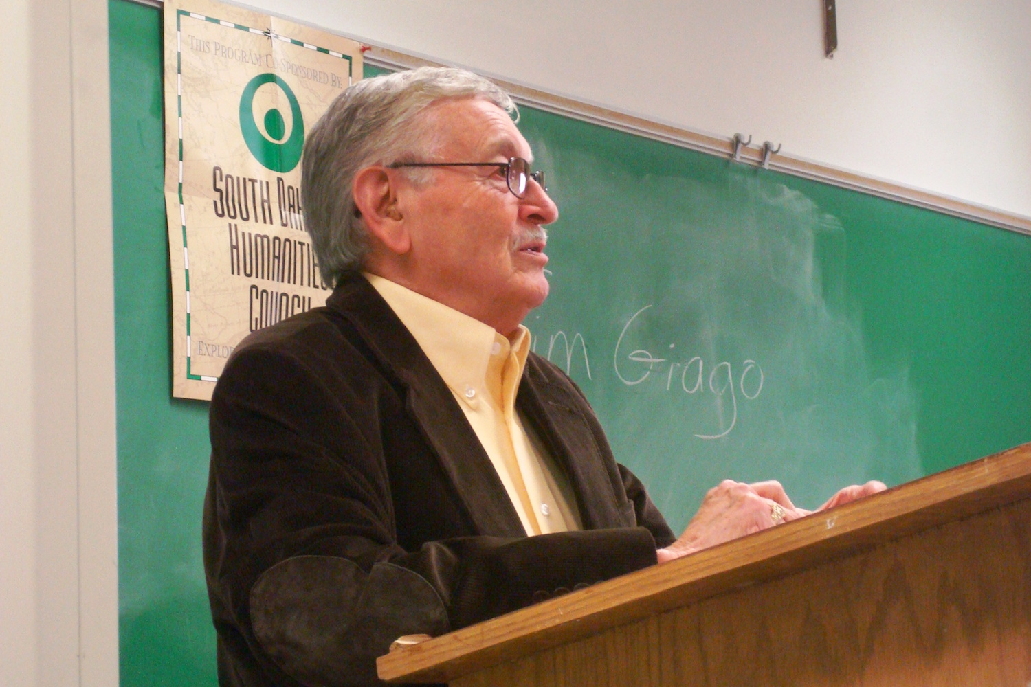 Native Sun News: Tim Giago shares the history of Indian journalism