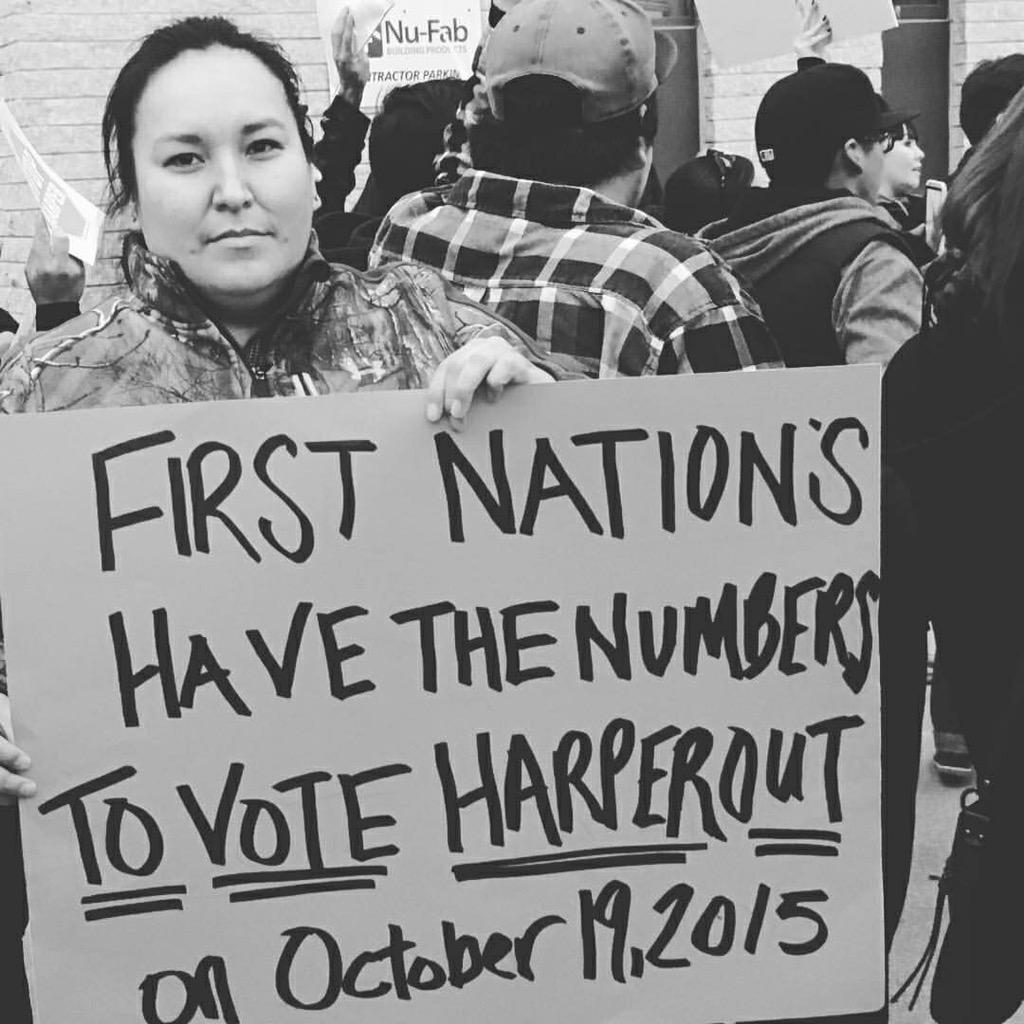 Marlana Thompson-Baker: I voted for the first time in Canada