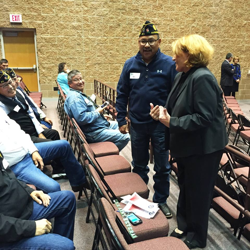 Lakota Country Times: Sen. Heitkamp takes on Pine Ridge crime