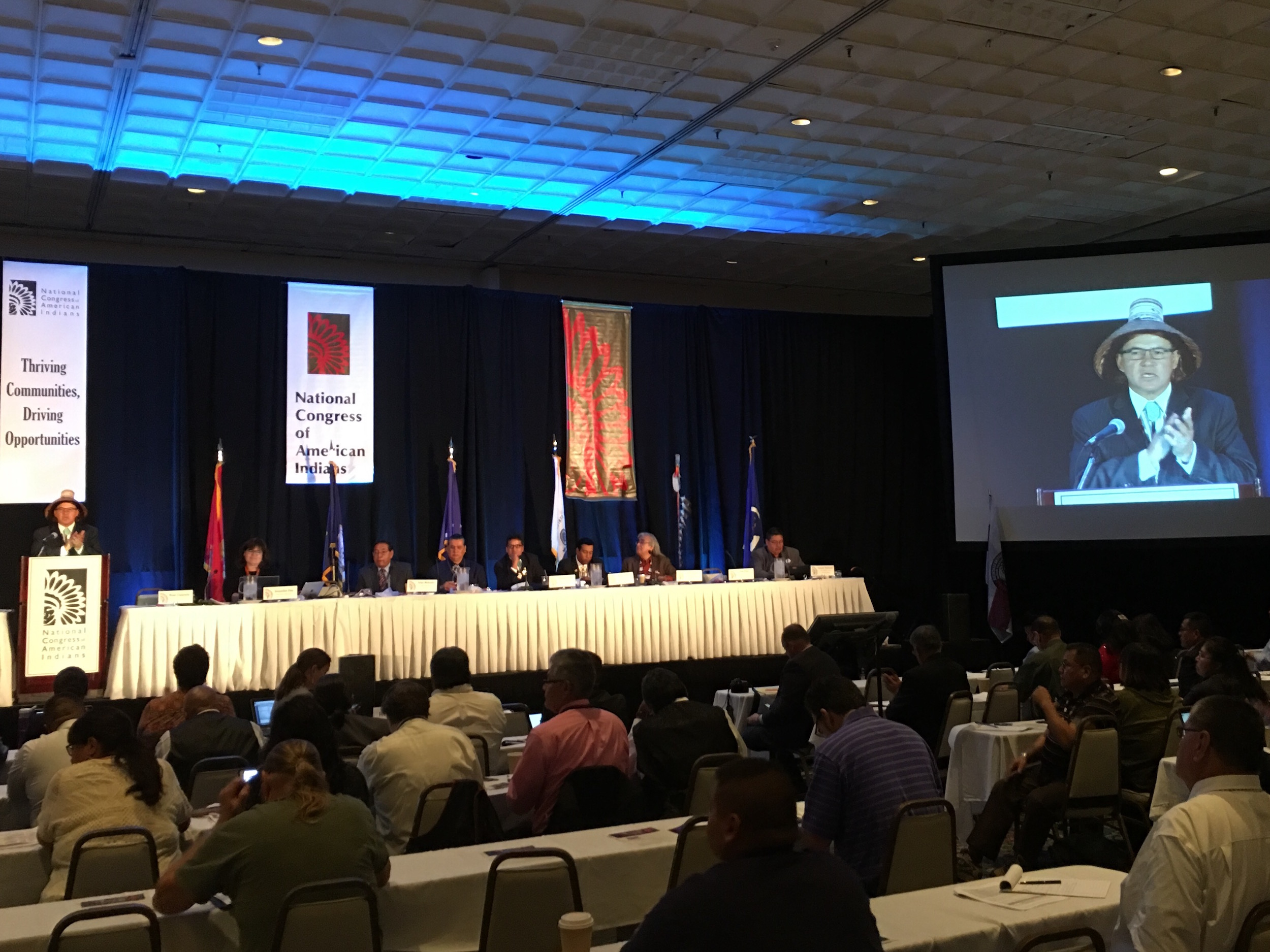 Suicide raised as major issue during NCAI's annual convention