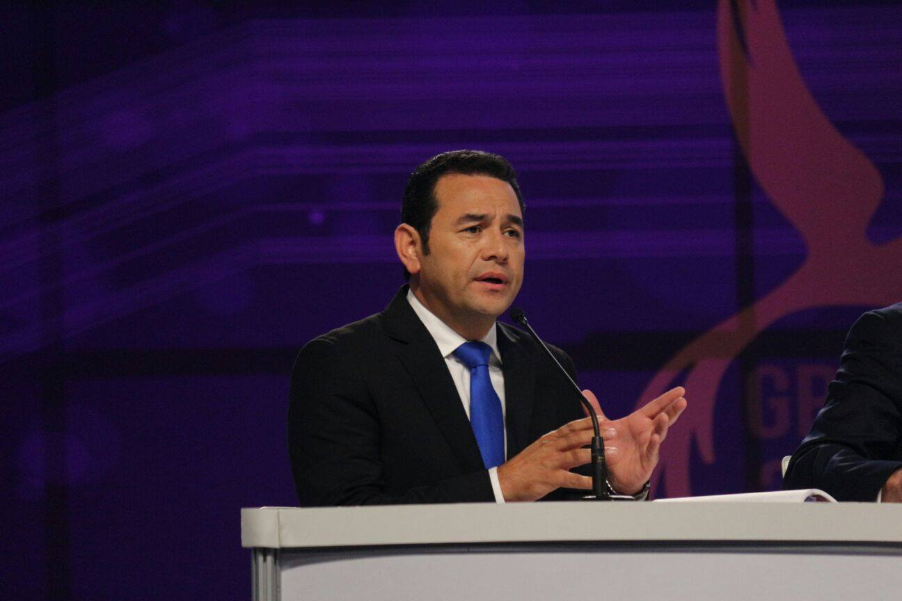New president of Guatemala made jokes about indigenous people