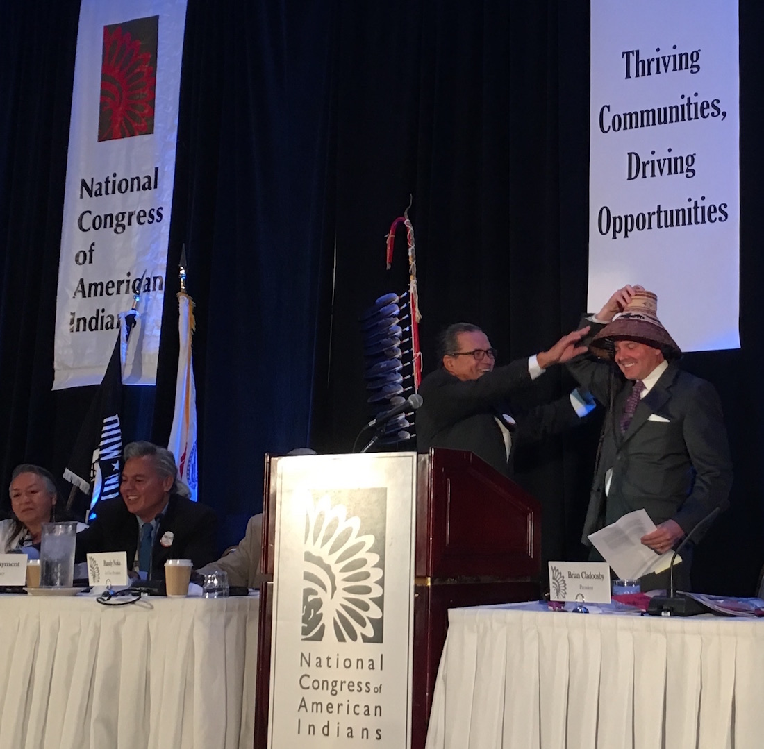 Kevin Washburn announces departure from Bureau of Indian Affairs post