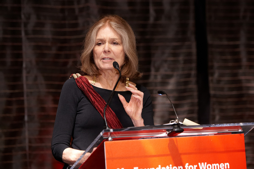 Gloria Steinem endorses 'Indian Givers' and 'The Sacred Hoop'