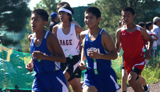 Runners from Hopi Reservation high school aim for 26th title