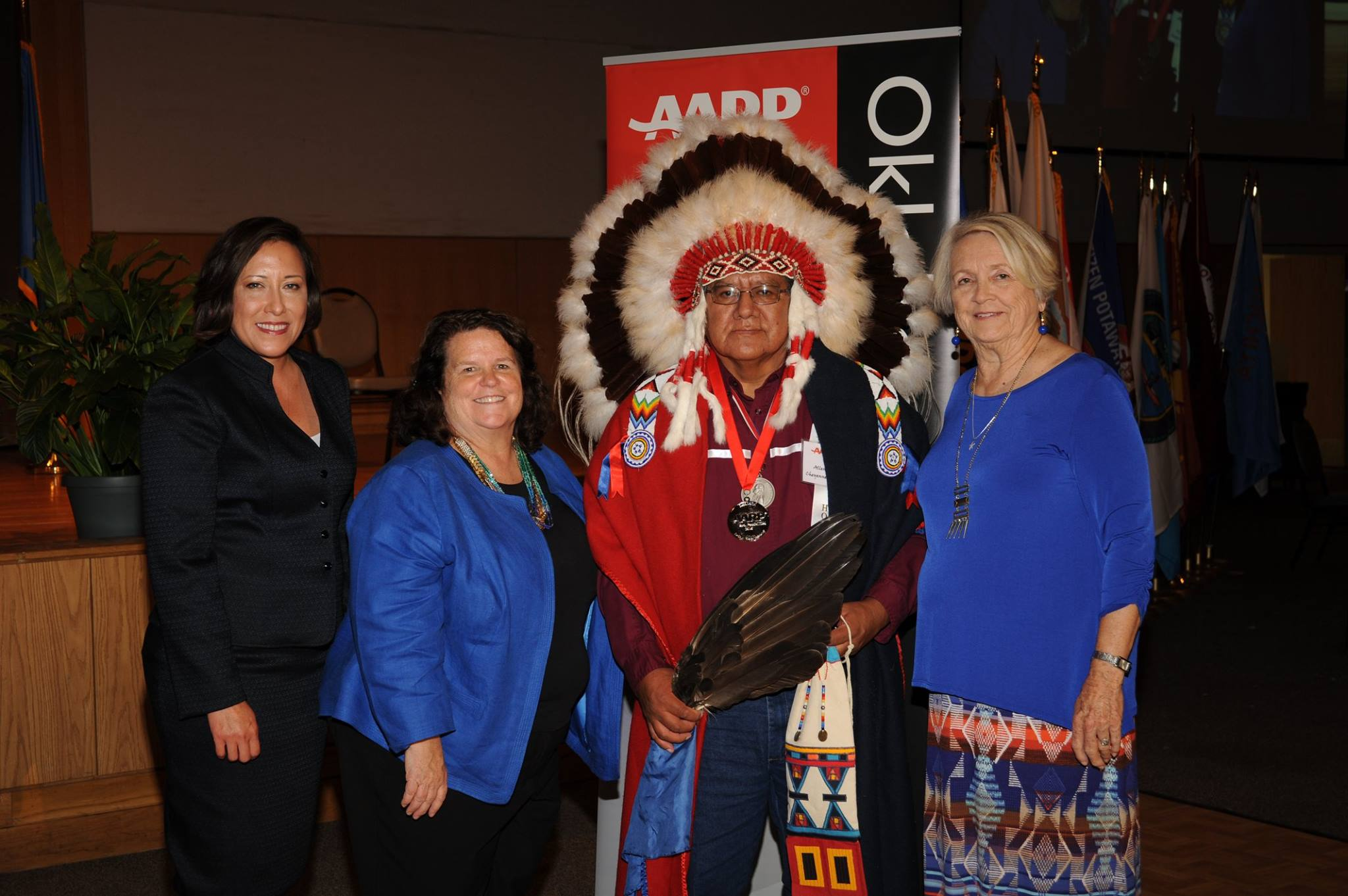Oklahoma AARP honors dozens of Indian elders at ceremony