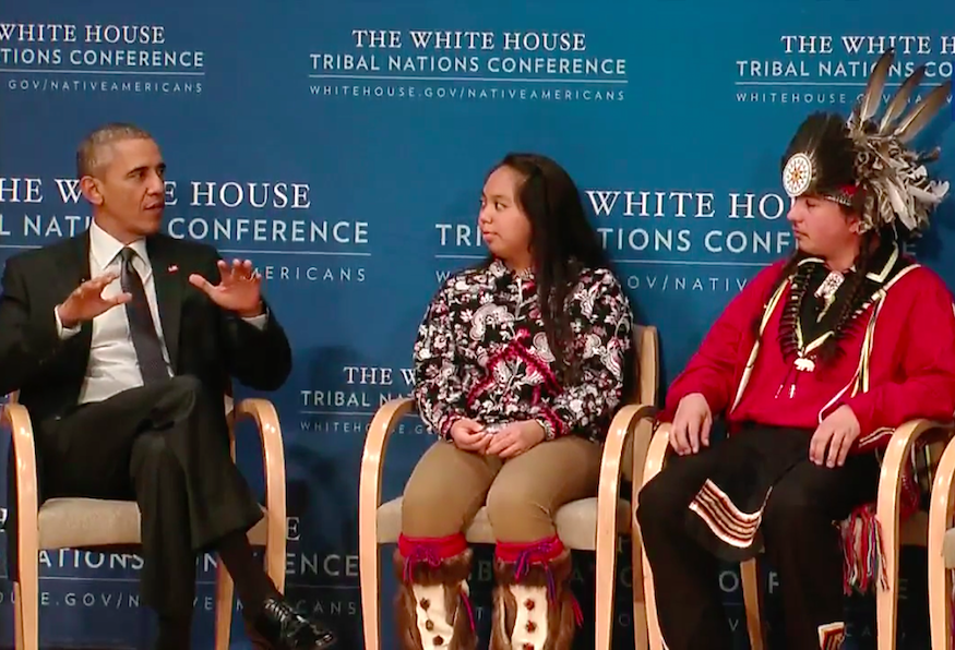 Transcript: President Obama at Tribal Nations Conference