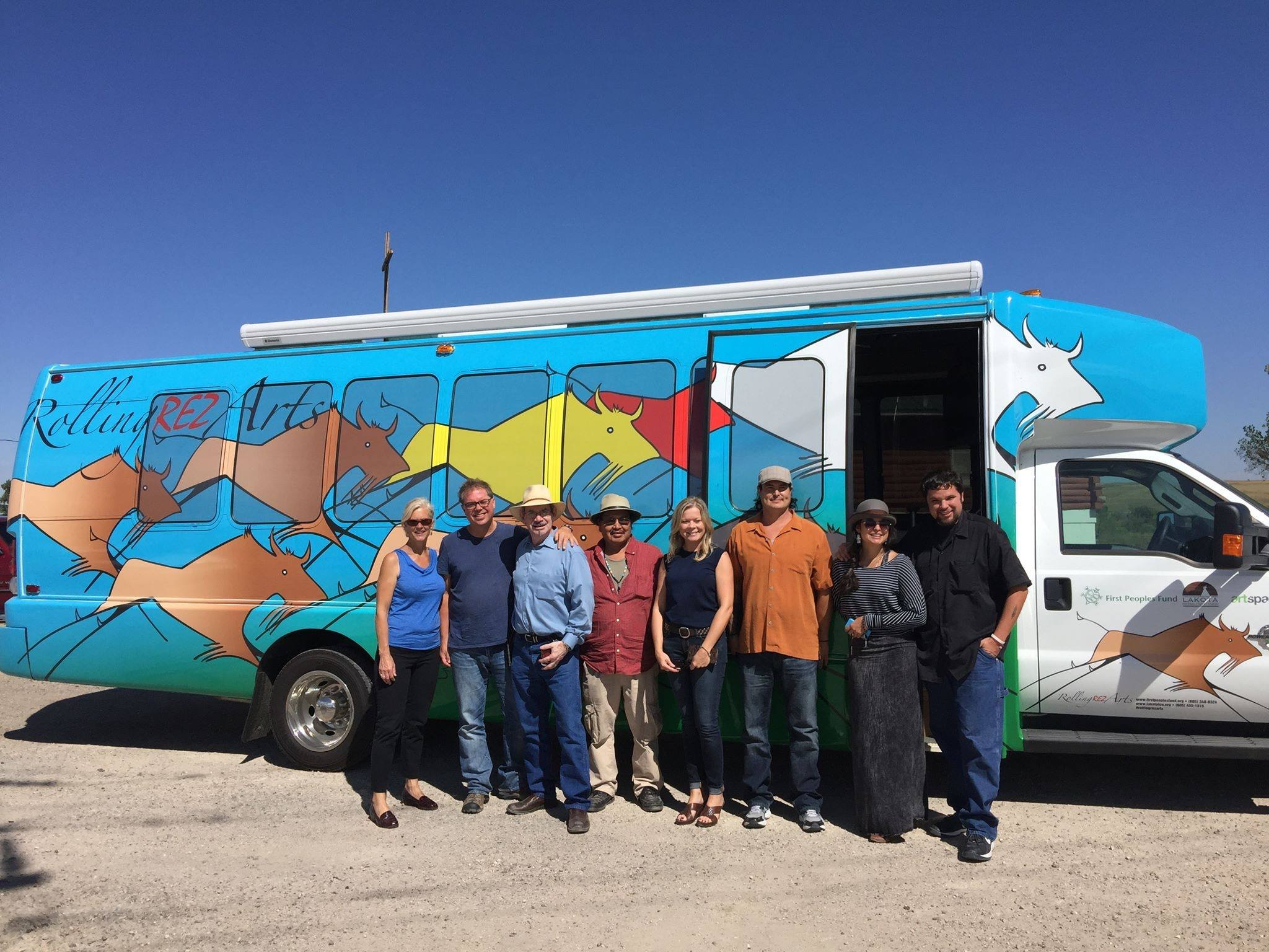 Lakota Country Times: Mobile arts center debuts at Pine Ridge
