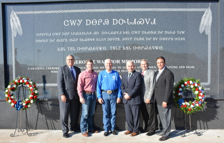 Cherokee Nation unveils new warrior memorial for veterans
