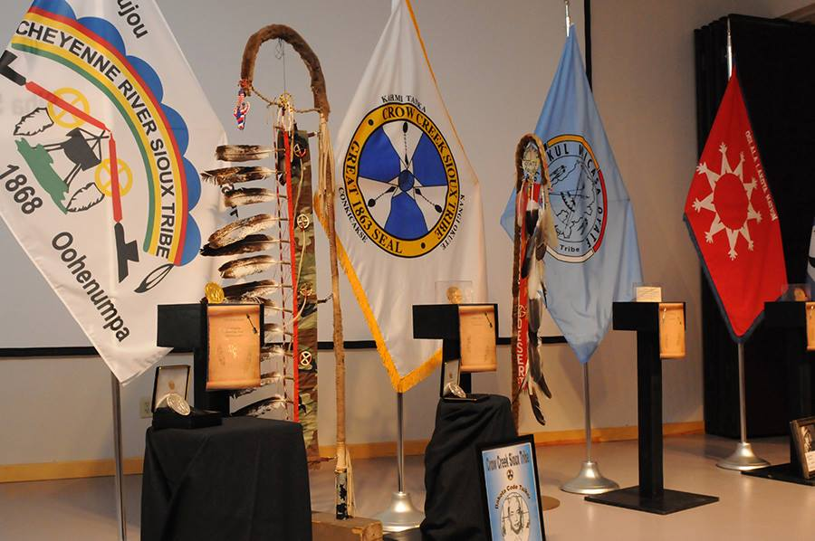Ceremony honors Lakota Code Talkers who served in wars