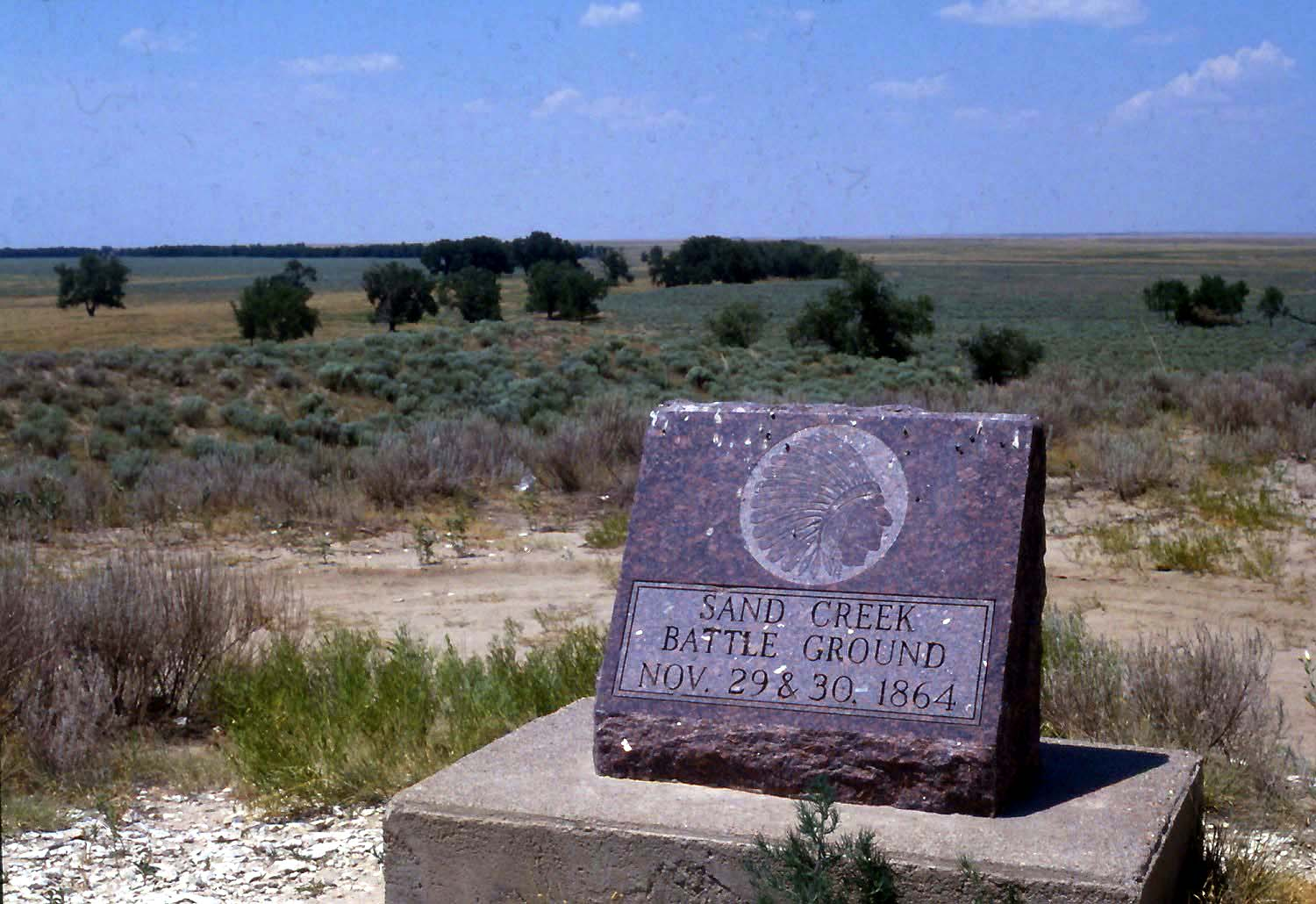 Patty Limerick: A memorial to the Sand Creek massacre of 1864