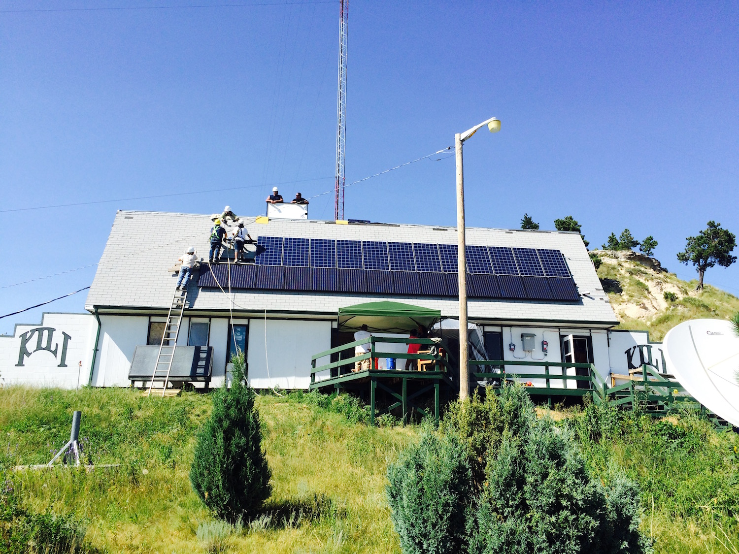 Lakota Country Times: Interest growing in solar at Pine Ridge