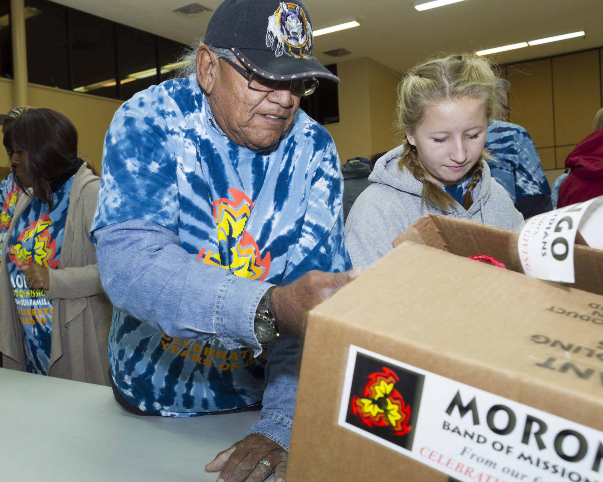 Morongo Band distributes 13K turkeys for Thanksgiving meals