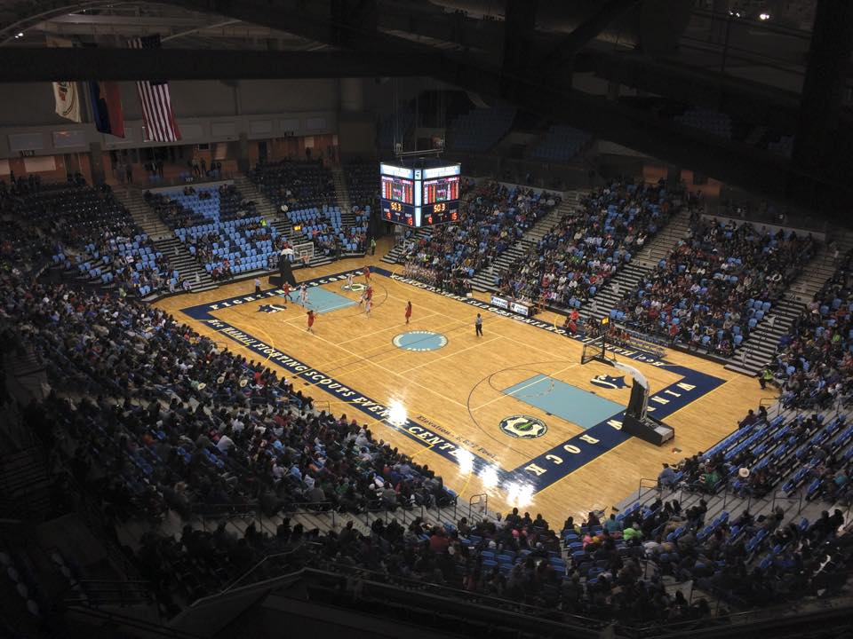 Navajo Nation hosts Division I basketball game at event center