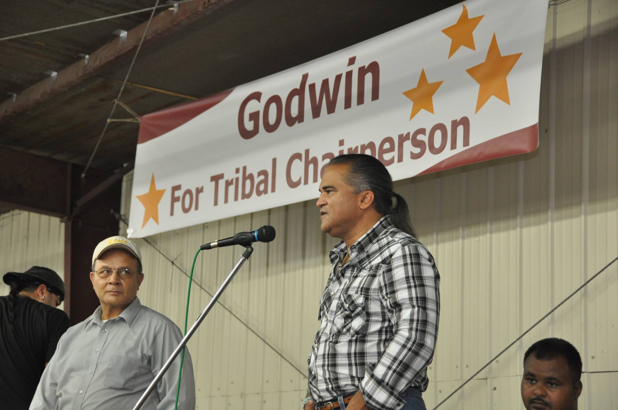 Voters of Lumbee Tribe pick newcomer Harvey Godwin as chair
