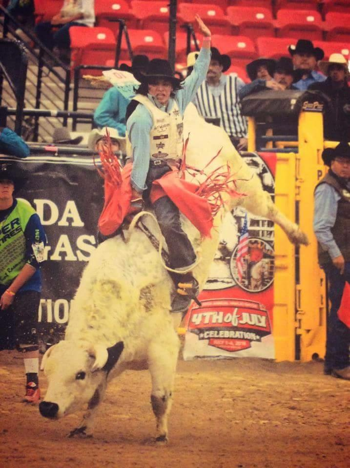 Lakota Country Times: Oglala champion hosts bull riding challenge