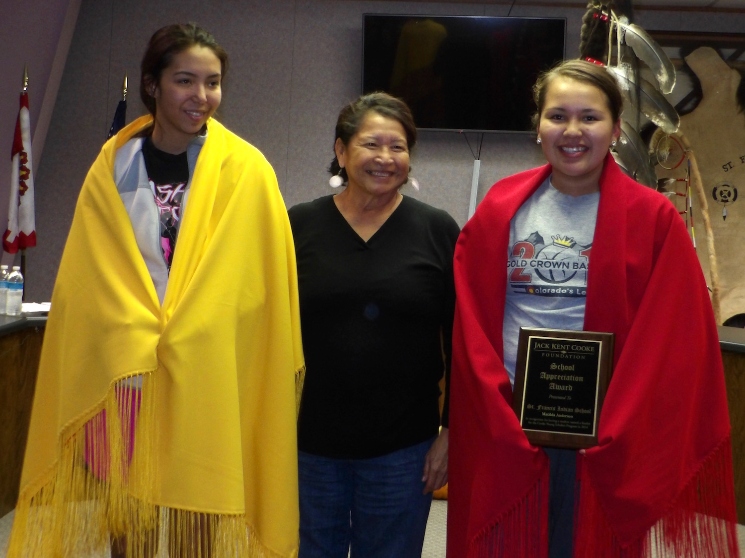 Lakota Country Times: Rosebud students earn top scholarship