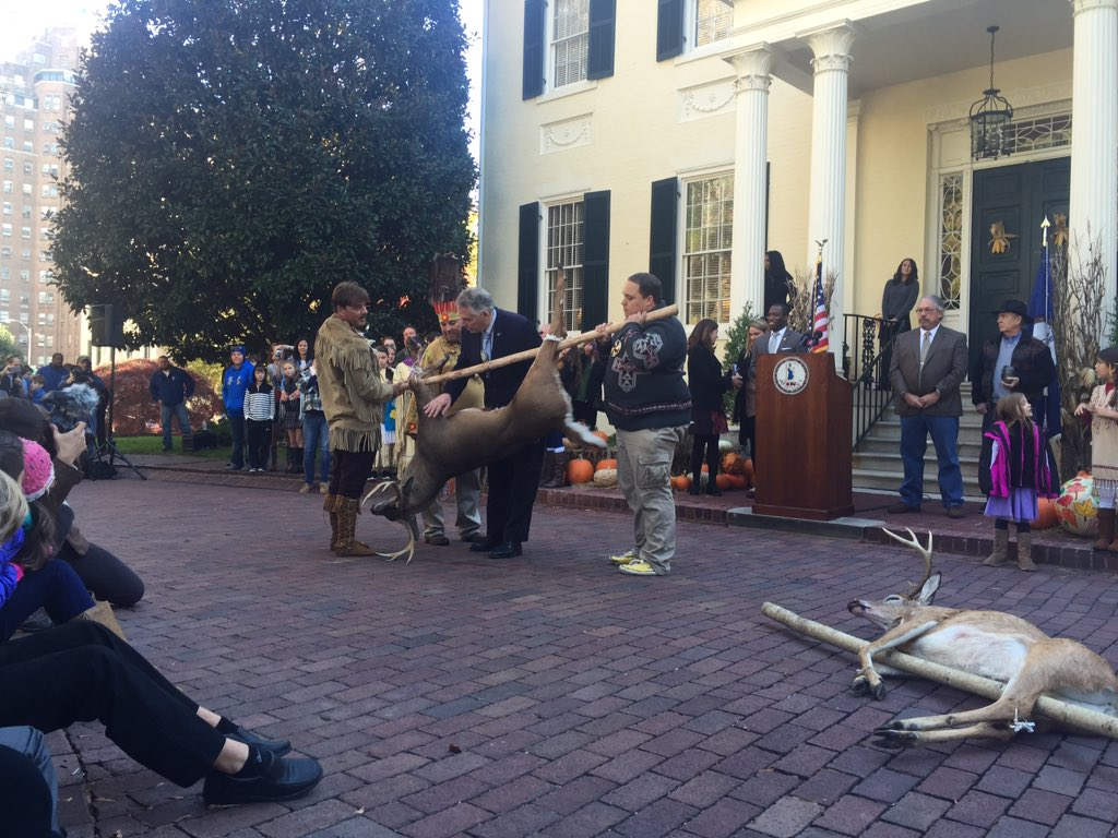 Virginia tribes continue to pay tribute required by 1677 treaty
