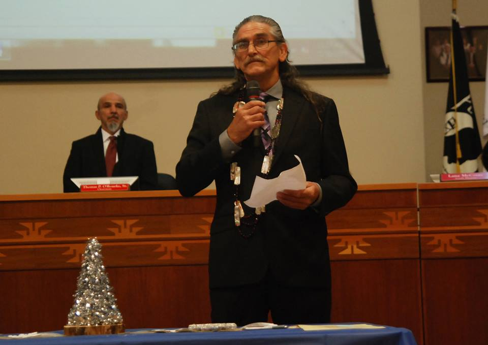 Yurok Tribe holds installation ceremony for chair and vice chair