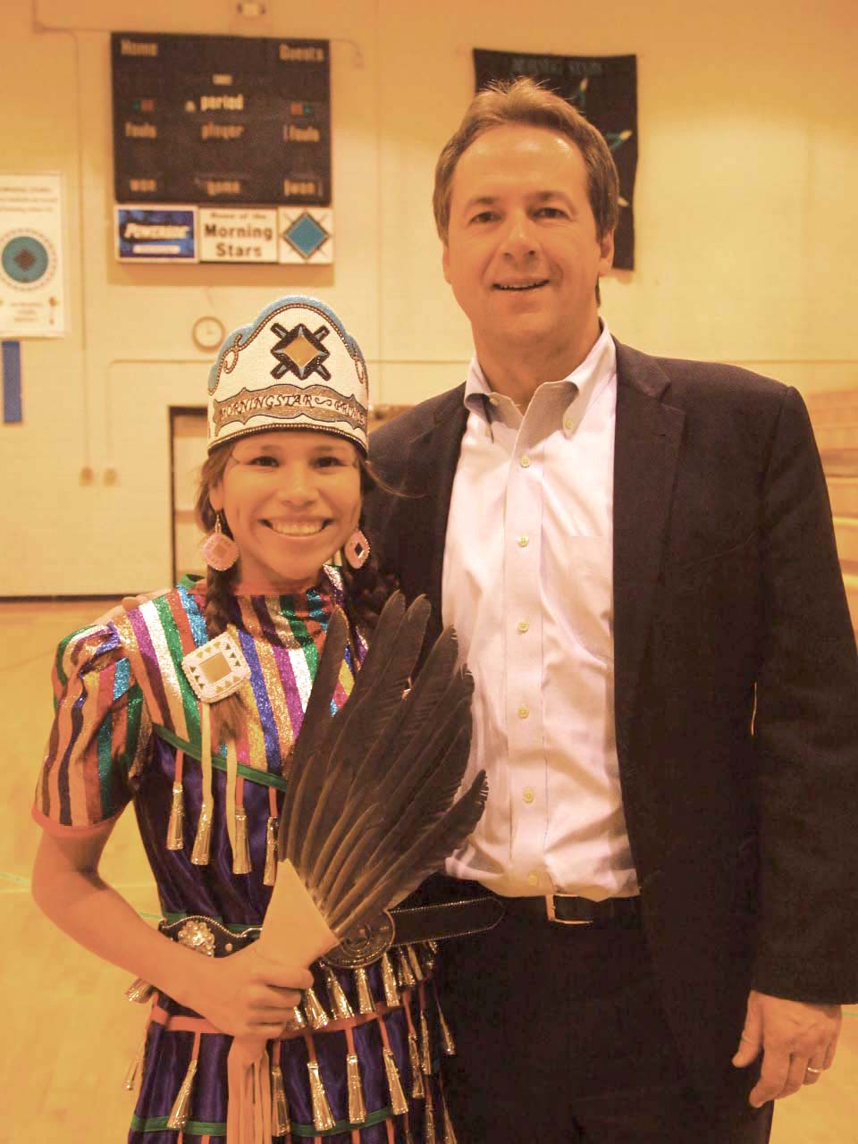 Native Sun News: Northern Cheyenne Tribe welcomes governor