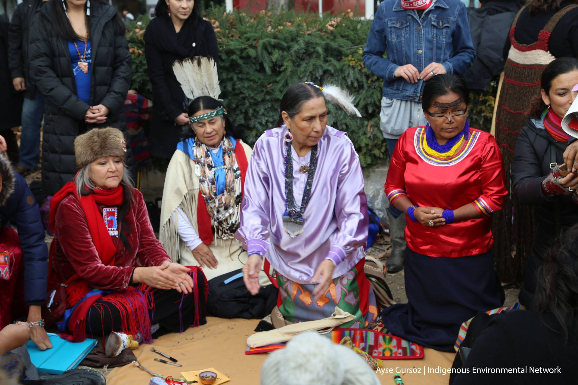 Native Sun News: Native activists meet for climate talks in France
