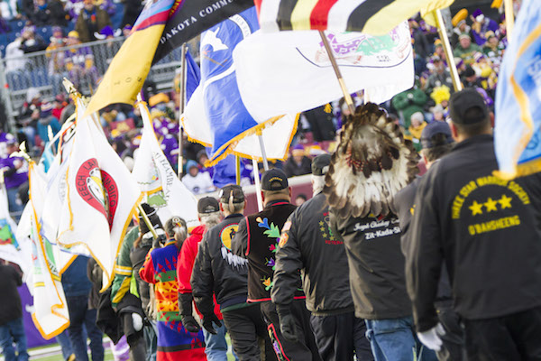 Robert DesJarlait: Tribes come together for Minnesota NFL game