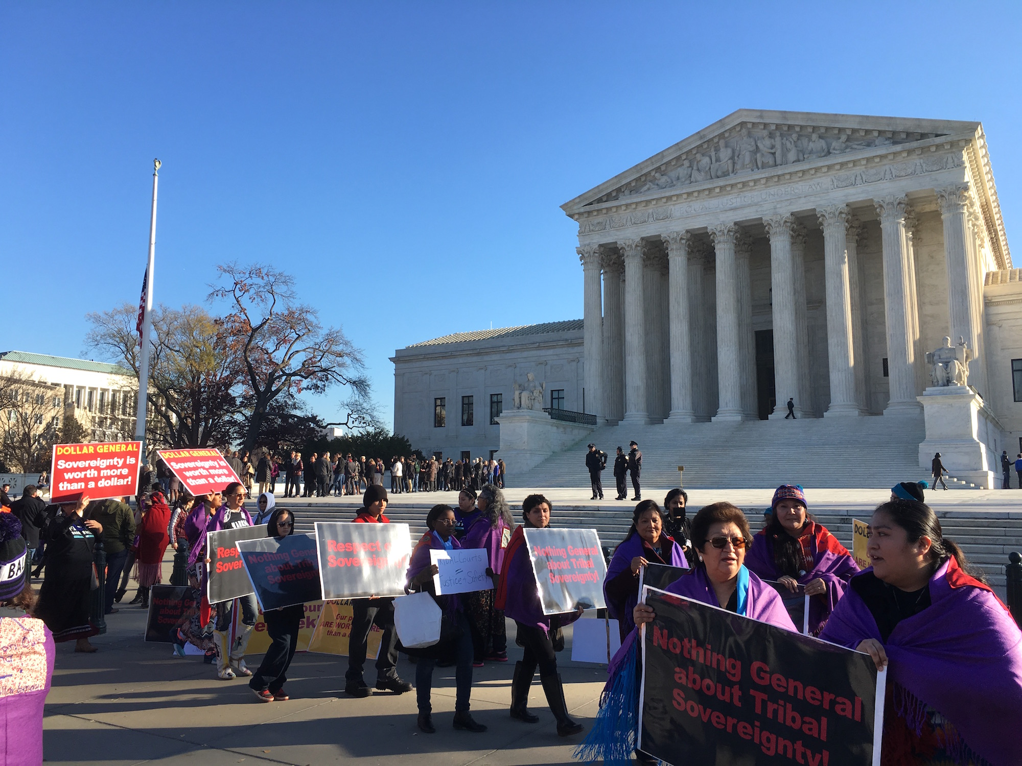 Supreme Court debates 'inherent' tribal sovereignty in new ruling
