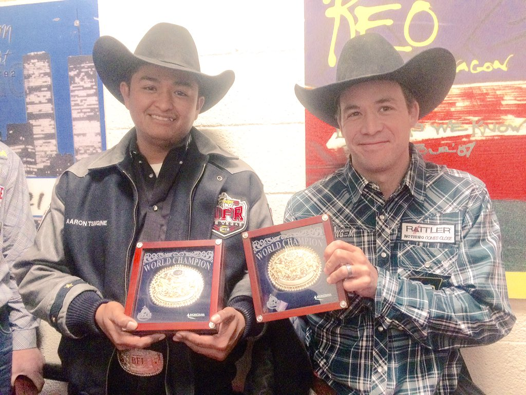 Navajo team ropers score top medals at National Finals Rodeo