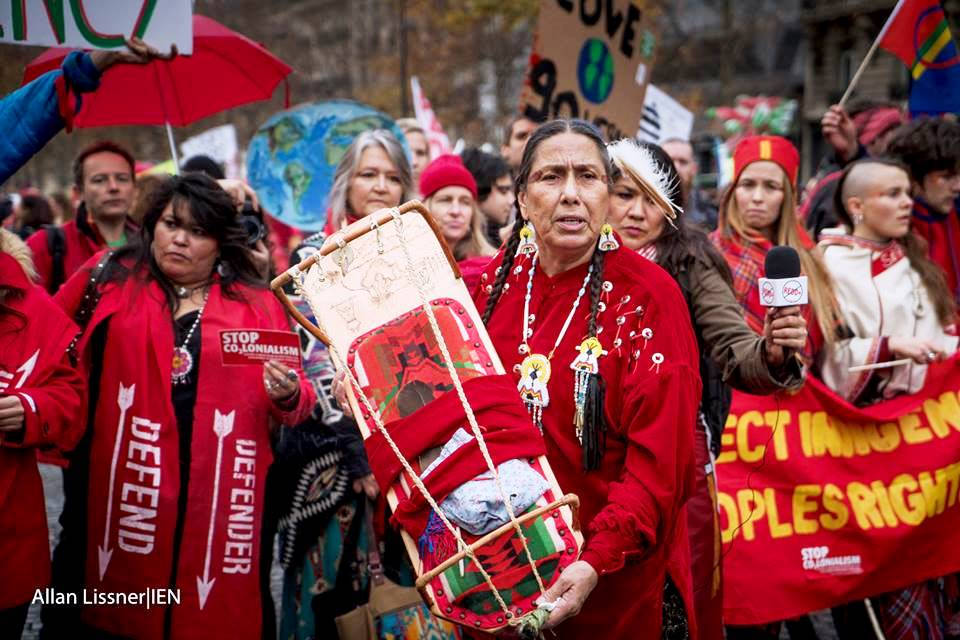 Native Sun News: Indigenous activists take a stand on climate