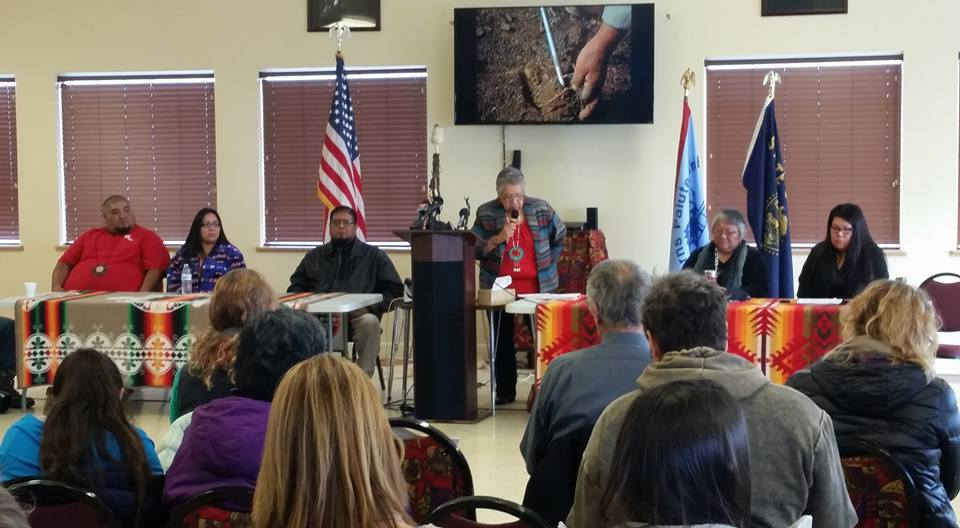 Charlotte Rodrique: Land rightfully belongs to Burns Paiute Tribe