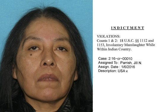 Member of Ute Tribe of Utah indicted on manslaughter charges