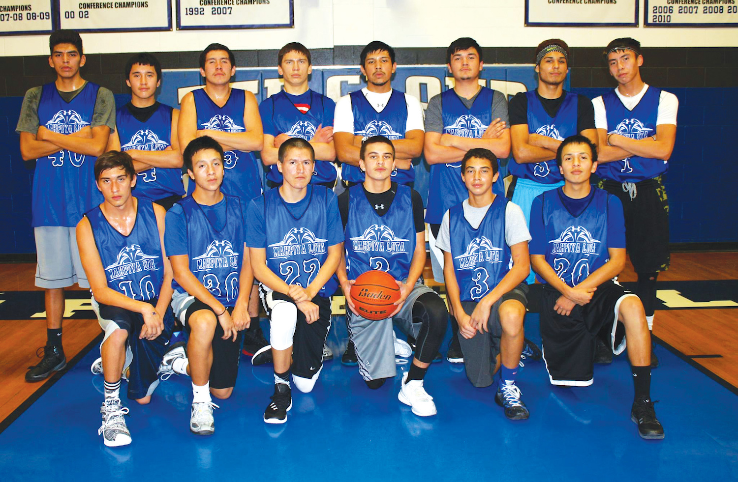 Native Sun News: Pine Ridge basketball team steams over rivals