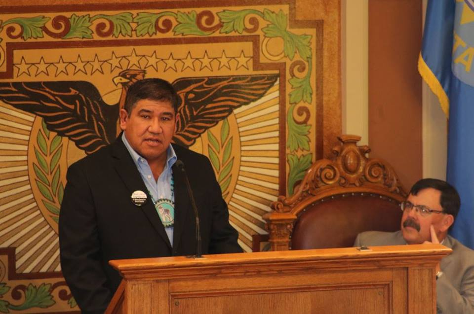 South Dakota Legislature hears first State of the Tribes address