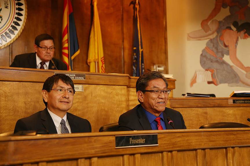 Navajo Nation Council opens without usual speech by president